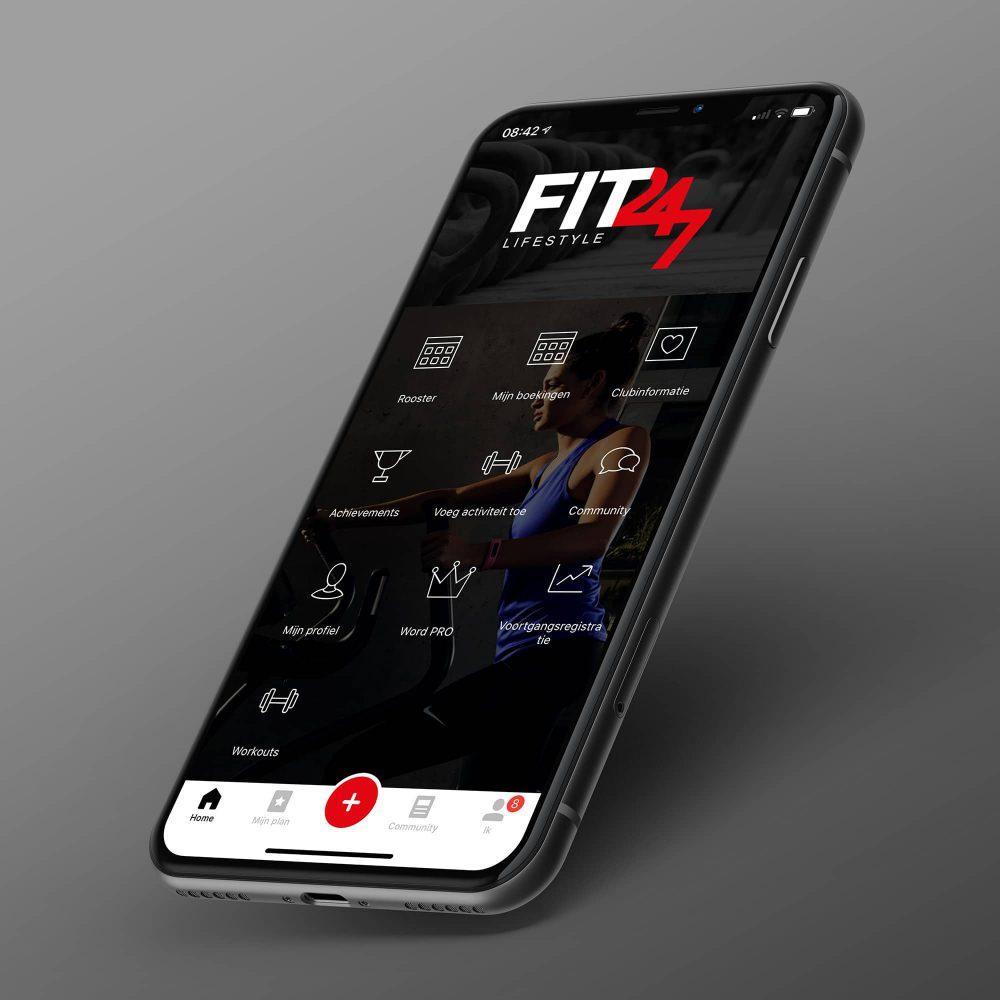 Telefoon app fit 247